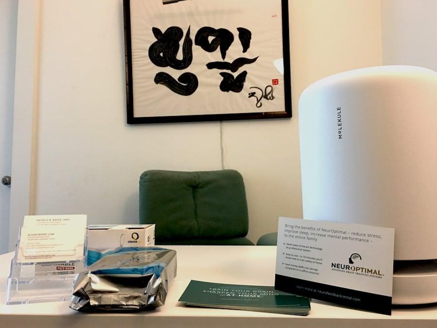 ny-neurofeedback-office-with-molekule-airpurifier-in-rooms