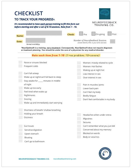 checklist-form-neurofeedback-training-co