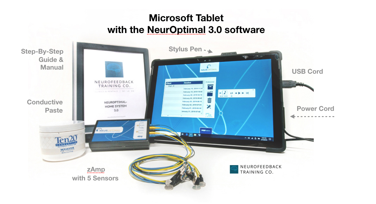 microsoft-tablet-with-the-neuroptimal-software
