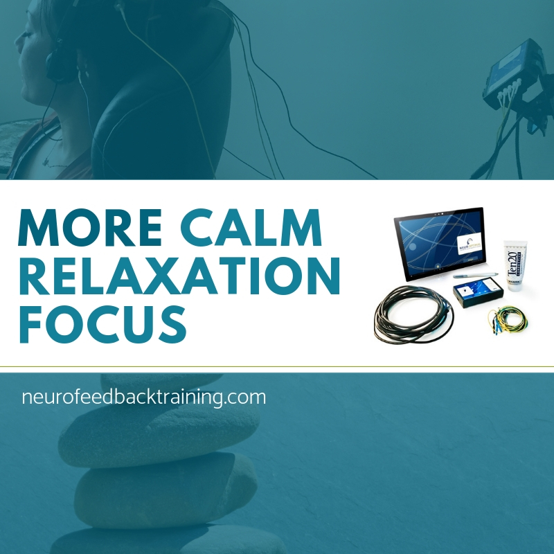 more calm relaxation with neuroptimal neurofeedback